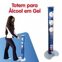 Totem para álcool gel